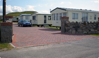 quiet caravan park in north wales coast